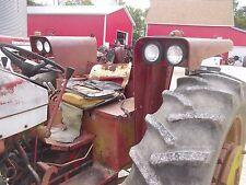 International 656 Urc Tractor Orgnl Set Ih Flat Top Fenders Lights Brackets Rare