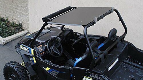 1000 Polaris RZR 900 900S 2015-2019 Turbo Sideways Bed Arm Spare Tire Mount