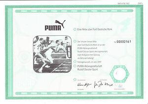 Puma AG, Herzogenaurach 1997 - Abb. Armin Hary - 5 DM - - Leichlingen, Deutschland - Puma AG, Herzogenaurach 1997 - Abb. Armin Hary - 5 DM - - Leichlingen, Deutschland