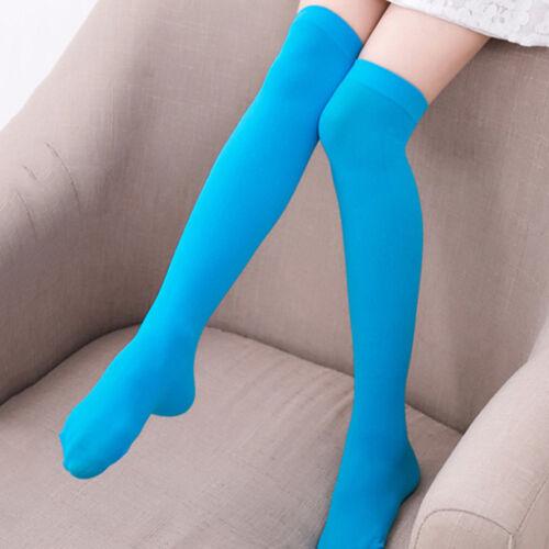 Women Girls Thigh High Over Knee Socks Anti Skid Long Hosiery Stockings Fashion