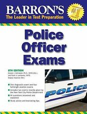 Barron's Police Officer Exam (Barron's Police Officer Examination)-ExLibrary