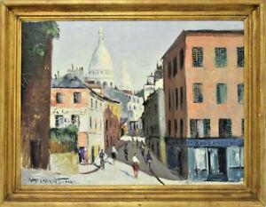 AUGUSTO-GOMES-MARTINS-PORTUGUESE-1922-1994-OIL-ON-BOARD-PARIS-STREET-SCENE