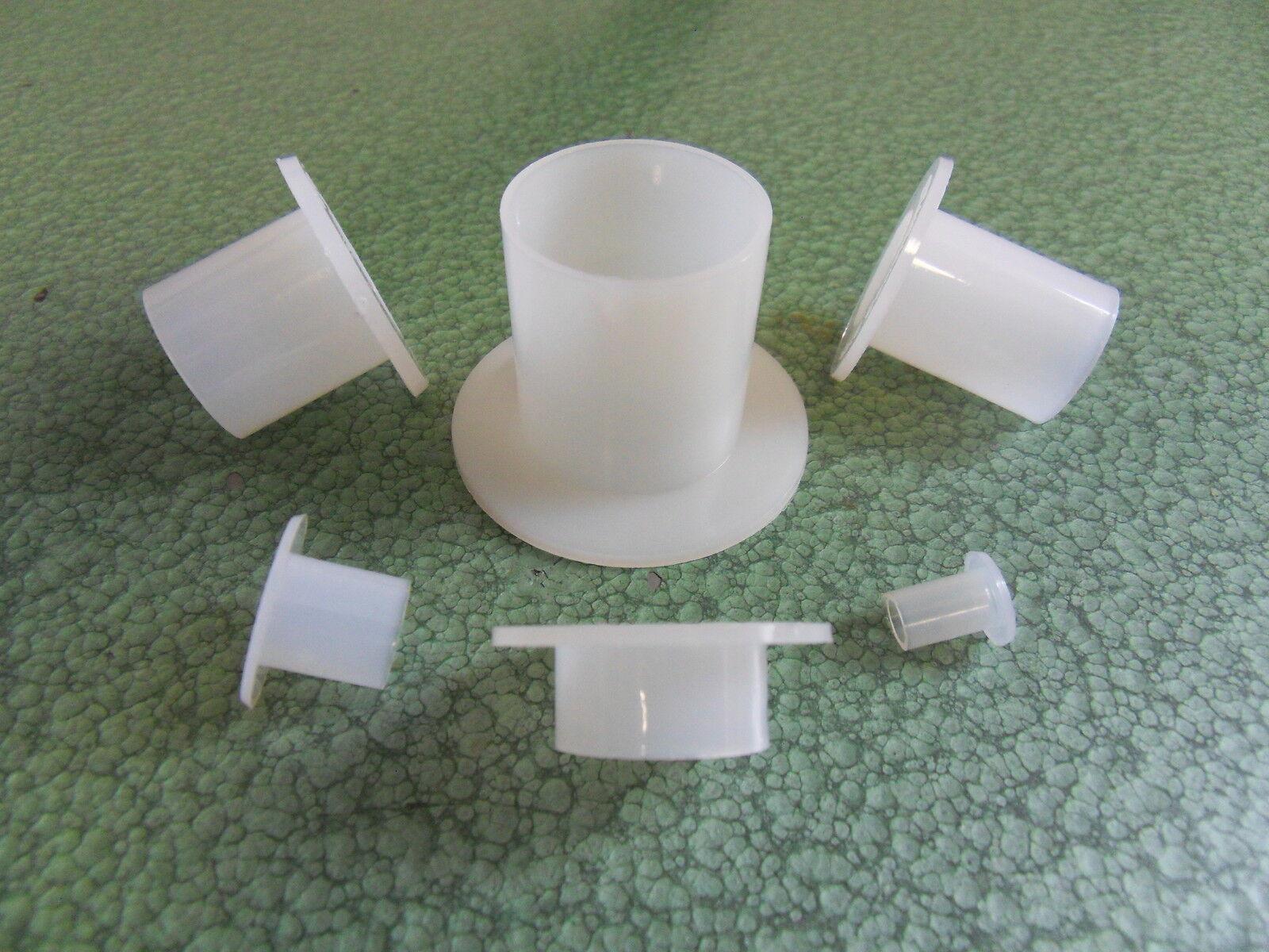Isolierhülse aus Kunststoff PA6 natur M12-M42 Isolierhülsen Schrauben Korrosion