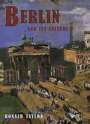1 of 1 - Berlin and Its Culture: A Historical Portrait-ExLibrary