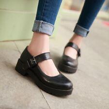 c80cbb11e83d item 3 Retro UK Ladies Mary Jane Pumps Block Heels Ankle Strap Casual Party  Shoes Size -Retro UK Ladies Mary Jane Pumps Block Heels Ankle Strap Casual  Party ...