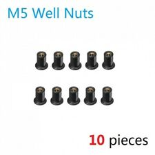 Connect 36938 Nyloc Nuts Metric 10mm Pack 5
