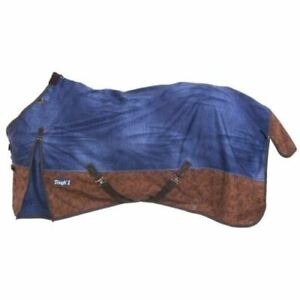 Tough-1-1200D-Poly-Turnout-Sheet-American-Legend-Denim-Print-Horse-Tack