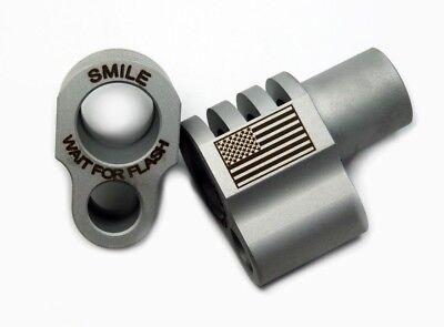 1911 Full-Size Smile Wait for Flash/Flag Engraved Compensator 45acp SS  SATIN   eBay