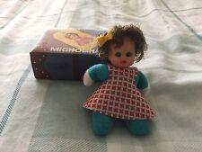 Vintage Miniature Bean Doll - Matchbox - Fofolete,El Greco,Baby William 1980S