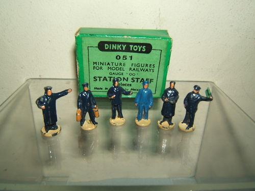 Dinky Juguetes  Dublo  Conjunto de Regalo Modelo No.051 No.1001 6 estación personal VN MIB