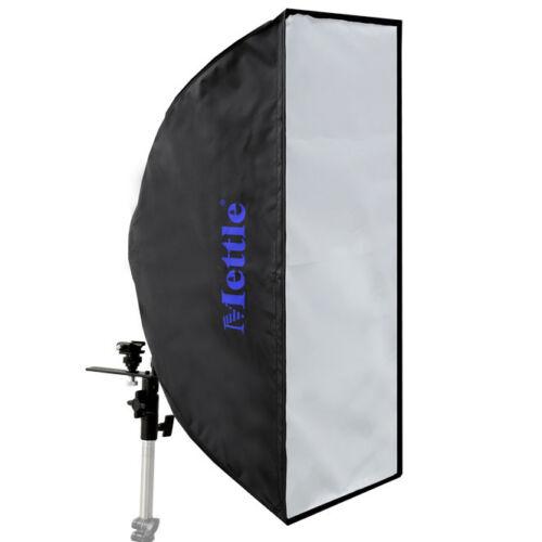 METTLE Striplight Schirm-Softbox 25x60cm für YONGNUO Systemblitz Kamerablitz