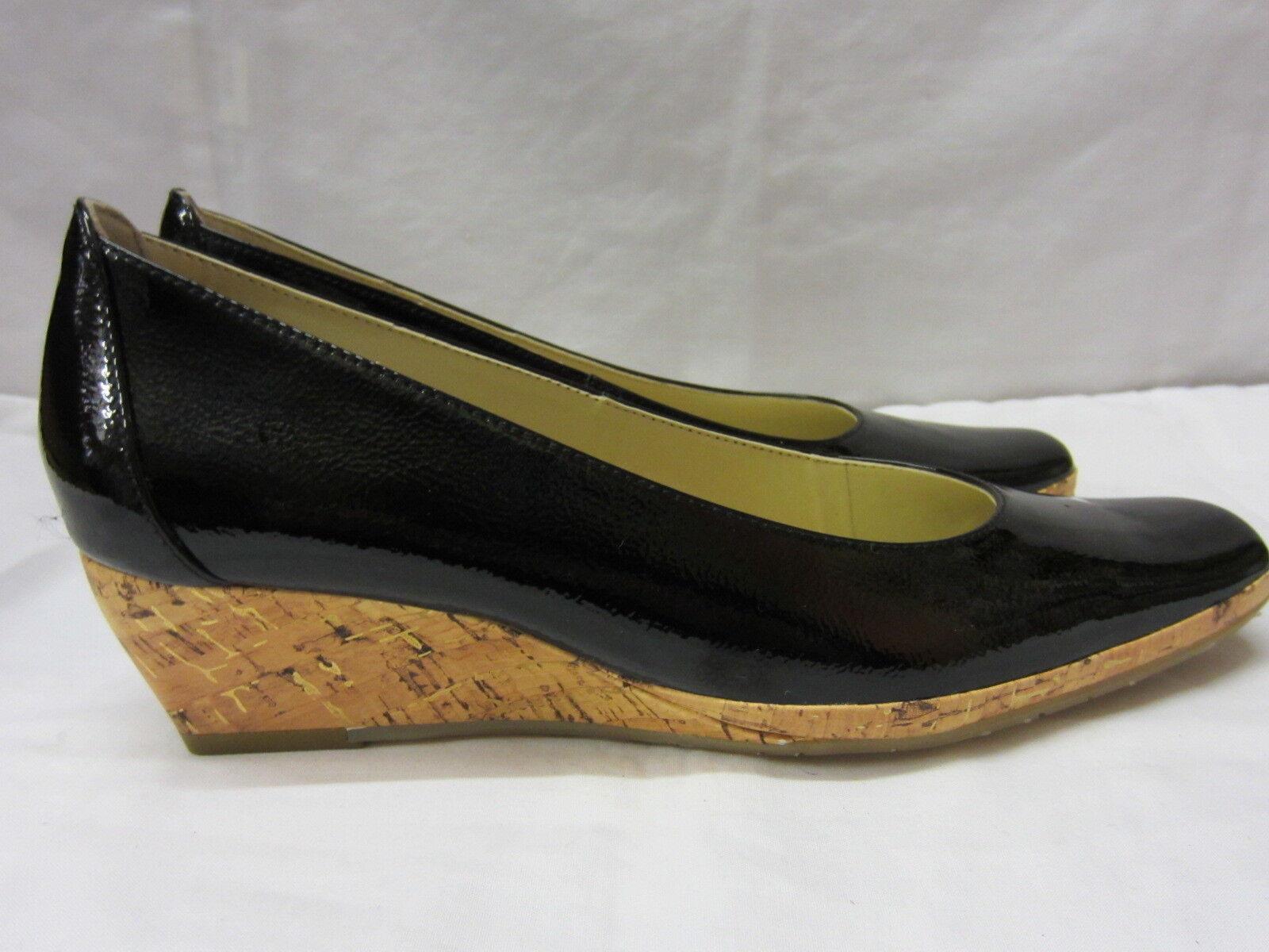 Damen Van Dal Keilabsatz D Schuhe schwarz Lackleder PALAWAN D Keilabsatz Einbau 41a168