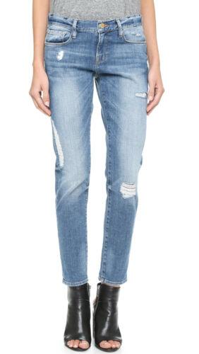 Jeans in Slouchy con Amherst 26 Destressed Straight Garcon Sz montatura Slim Denim Le 4wrxzFU4
