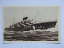 Nave NEPTUNIA OCEANIA COSULICH line Trieste ship liner vecchia cartolina bis *
