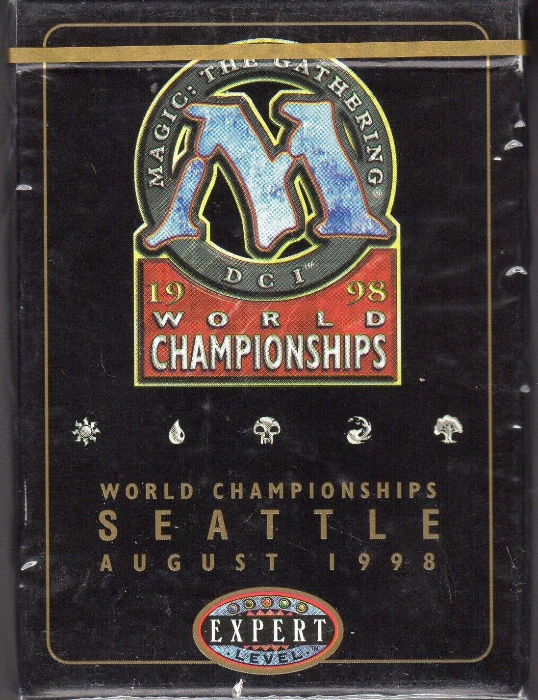 English World Champi Brian Hacker 1998 Heavy Play Sideboard 1x Disenchant