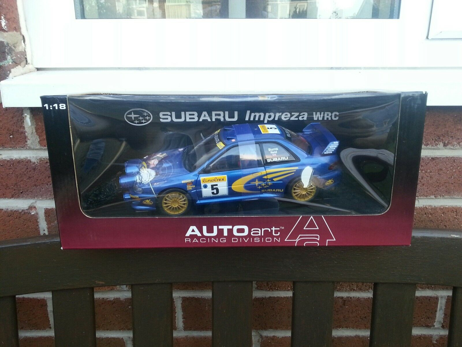 Autoarte 1 18 Subaru Impreza 1999 Wric Monte autolo Nightstage 8994