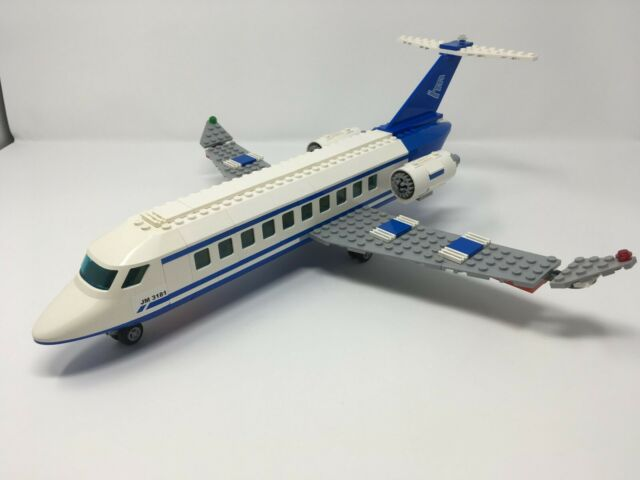 ONLY aircraft Lego 3181 Passenger Plane used airplane plane airport jet airliner