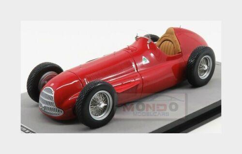 Alfa Romeo F1 159 Alfetta #0 Press Version 1951 Red TECNOMODEL 1:18 TM18-147A Mo