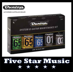 JIM-DUNLOP-J6500-GUITAR-MAINTENANCE-SYSTEM-65-KIT-NEW