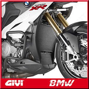 PROTEZIONE-X-RADIATORI-ACQUA-E-OLIO-IN-ACCIAIO-INOX-NERO-BMW-S-1000-R-14-gt-18