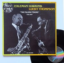 """Vinyle 33T Coleman Hawkins / Lucky Thompson  """"Two talking tenors - 1952-1958"""""""