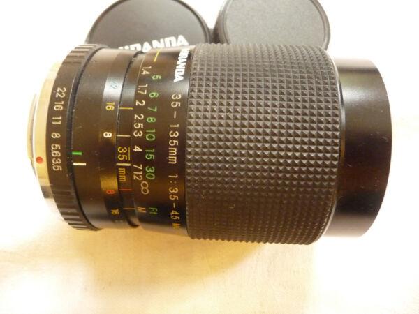 Objectif Photo Pour Pentax Slr Miranda 35-135 Mm F 1:3. 5-4.5 - Ricoh Petri Pk Fi. W17