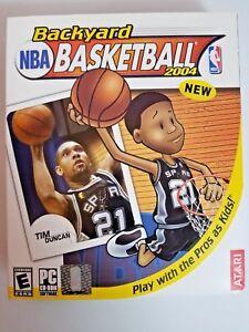Backyard NBA Basketball 2004 PC Game NEW factory sealed ...