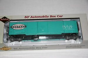 P2K-30375-50-039-AUTOMOBILE-BOX-CAR-NYC-76126-RTR-NEW