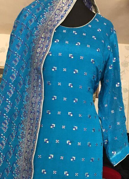/pakistano Indiano Designer Giacca E Cravatta.. B, Maria Sana Safina, Gul Ahmed, Barocco E Più-sana Safina,gul Ahmed,baroque And More