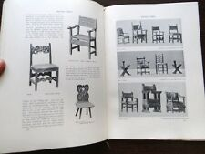 The Studio 1905 142 Art Nouveau Pourwit Claude Hayes Derwent Wood Old Chairs