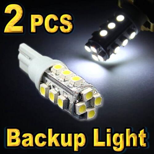2 Super White 921 912 T10 16-SMD Led Bulbs For Backup Reverse Lights #16c