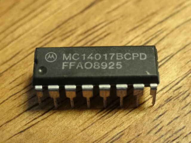 MC14017BCPD 14017  IC DIP16 ****NEW, AVAILABLE FOR FAST DISPATCH!****
