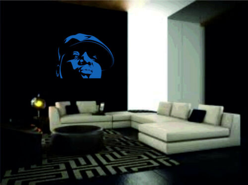 Biggy Smalls Biggie Notorious BIG Wall Sticker vinyl art large graphic decal