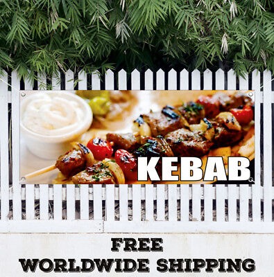 Banner Vinyl BURGERS Advertising Sign Steak Carnival Fair Food Restaurant Cafe
