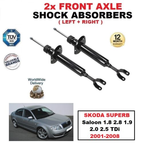 Front Shock Absorbers For Skoda exquise Saloon 1.8 2.8 1.9 2.0 2.5 TDi 2001-2008