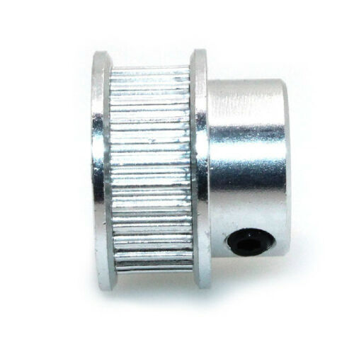 5mm Bore Aluminum Timing Pulley 5mm Pitch 12 Teeth 15mm Wide Belt Groove for 3D