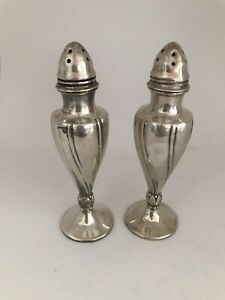 Vintage Viking C15 EP Lead Silver Salt Pepper Shakers | eBay