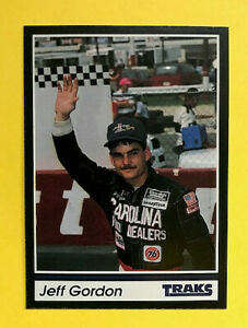 Details About Jeff Gordon Authentic Rookie Card 1991 Traks Card 1 4 Time Champ