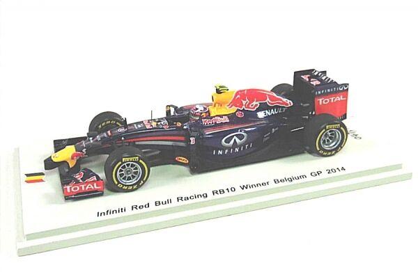 más orden rojo Bull Racing Racing Racing rb10 nº 3 Daniel Ricciardo-Winner Belgium gp 2014  envio rapido a ti