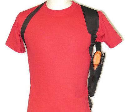 Sporting Goods Shoulder Holster For Ruger American Full Size Vertical Carry