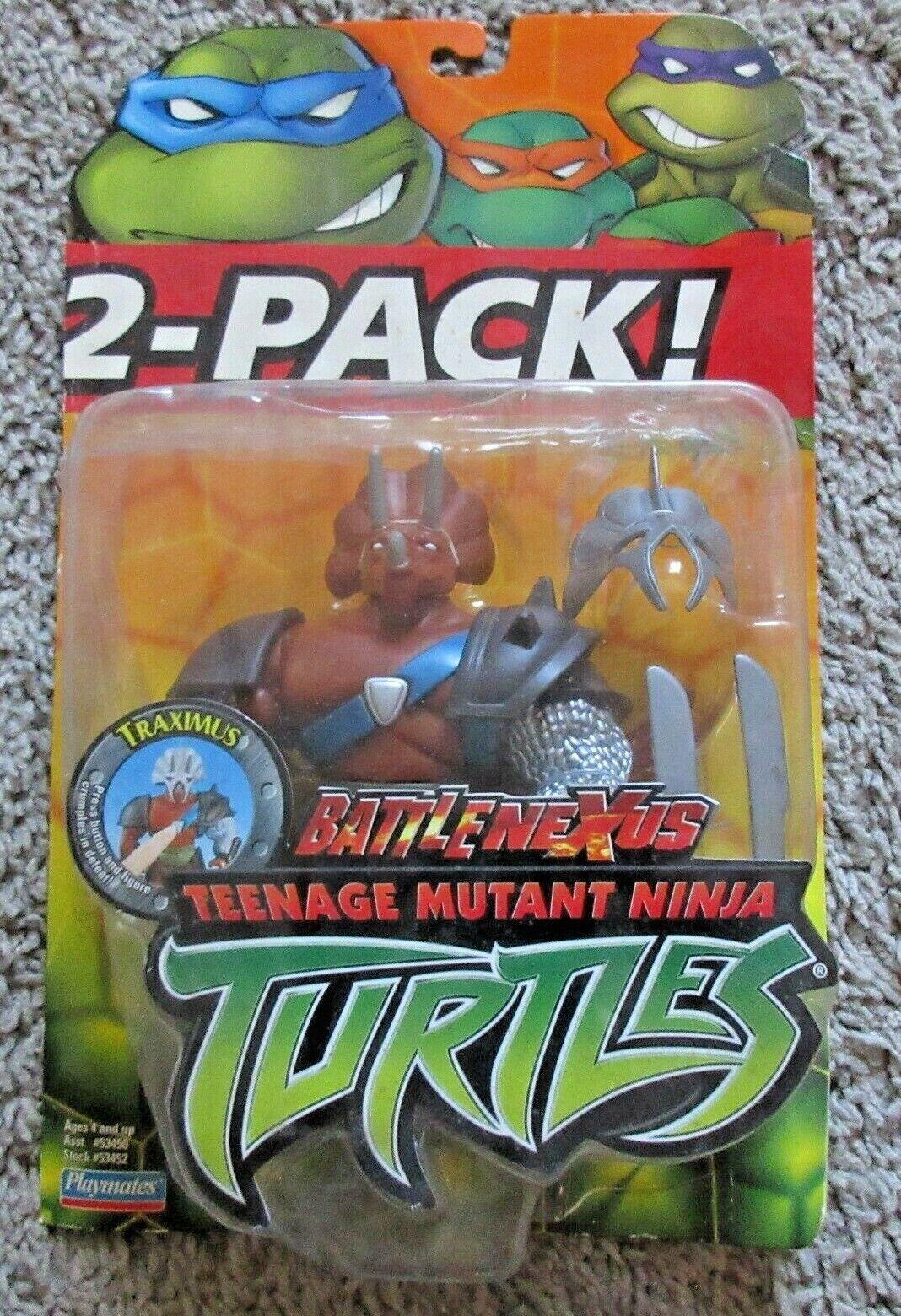 TEENAGE MUTANT NINJA TURTLES TRAXIMUS TMNT 2004 2002 03 05 06 SERIES TRICERATON