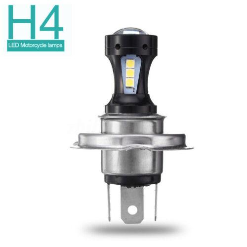 H4 For Motorcycle Motorbike LED Hi//Lo Beam Headlight Light Bulb 6500K Lamp