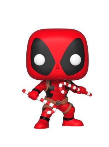Marvel Holiday Deadpool w// Candy Canes #400  NEW Funko Pop