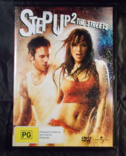 1 of 1 - Step Up 2 the Streets - DVD - Region 2-4