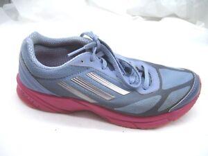 9d8322423edc Adidas 7.5M Lite Pacer blue pink running womens ladies sneakers ...