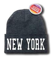 For Men Women new York Nyc Funny Hop Snowboard Ski Long Beanie Hat One Size