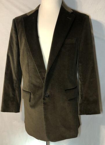 Theory Sharpy Vintage Velvet Blazer Jacket Mens 42