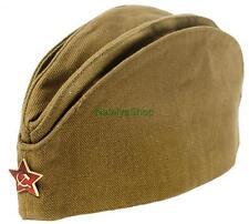 Military Forage Garrison Field Cap Russian Army Pilotka Hat Soldier Soviet USSR