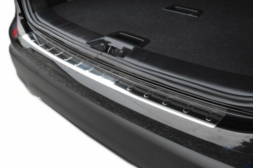 BMW X1 E84  2009-2015 REAR BUMPER SILL PROTECTOR STAINLESS STEEL