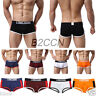 Sexy Men's Boxer Brief Flat Angle Underwear Boxer Shorts Pouch Soft Underpants